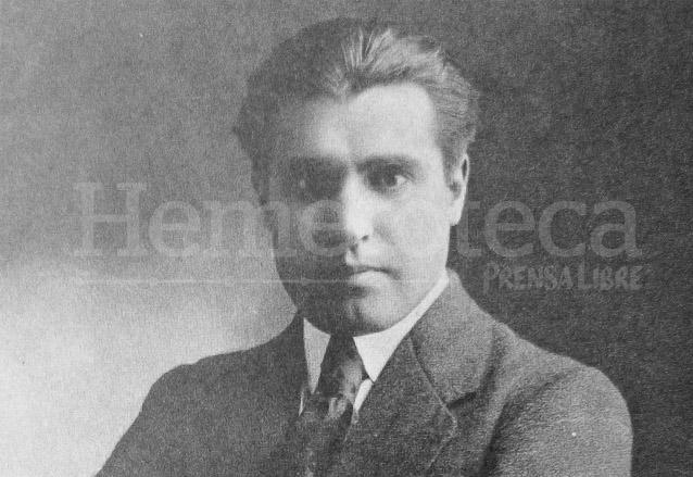Alberto Velásquez Günther a los 30 años en 1921. (Foto: Hemeroteca PL)