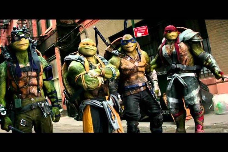 Las Tortugas Ninja no convencen en su las taquillas. (Foto Prensa Libre: Youtube)