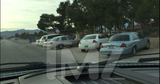 Vista afuera de la casa de Chumlee en Las Vegas. (Foto: Tomada del sitio TMZ)