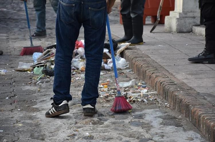 Plástico, papel, cartón y desechos orgánicos son los que más se recolectan en Esquipulas, según estudio.  (Foto Prensa Libre: Mario Morales)