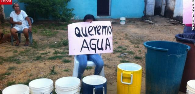 Resultado de imagen para crisis de agua en venezuela