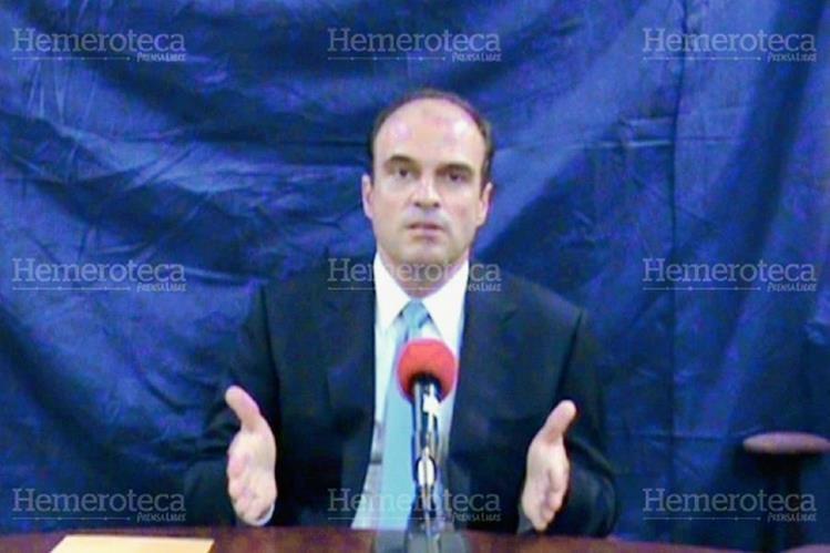 Rodrigo Rosenberg grabó un video en donde responsabilizaba al Gobierno de su asesinato. (Foto: Hemeroteca PL)