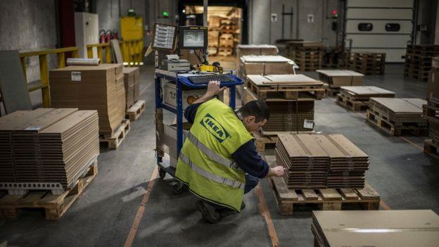 La venta de productos para ensamblar en cajas planas se ha convertido el sello distintivo de la empresa sueca.
