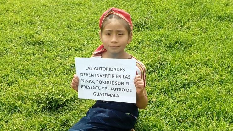 Los mensajes de la campaña buscan sensibilizar a las autoridades de gobierno. (Foto Prensa Libre: Fred Rivera)