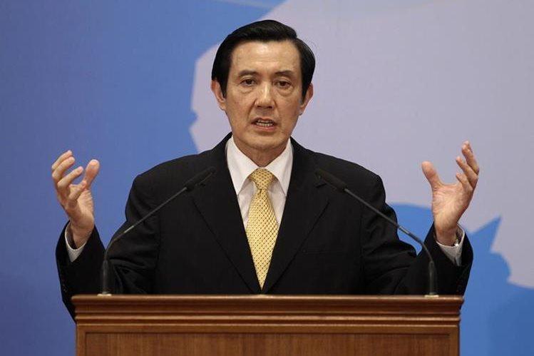El mandatario de Taiwán, Ma Ying-Jeou , llegará este lunes a Guatemala para reunirse con autoridades locales. (Foto Prensa Libre: Hemeroteca PL)
