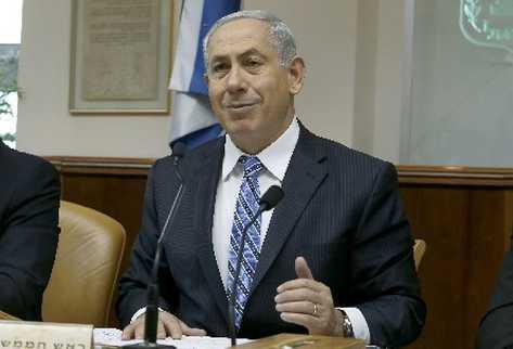 Benjamin Netanyahu, primer ministro israelí. (Foto Prensa Libre:EFE)