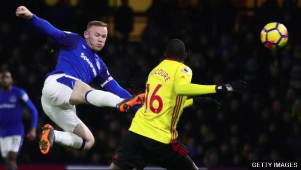 Hay jugadores como Wayne Rooney en los que nunca se tuvo duda que triunfarían en la Premier. (Foto Prensa Libre: BBC Mundo)