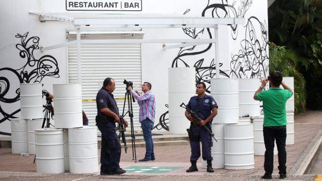 El secuestro sucedió en un conocido restaurante en la avenida principal de Puerto Vallarta. EPA