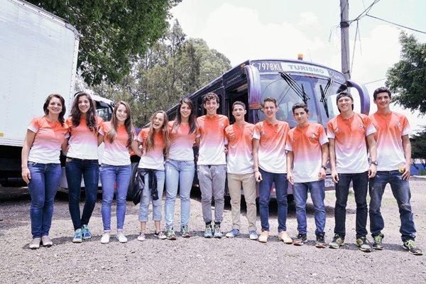 Costa Rica ya se encuentra en Guatemala listos para su participación. (Foto Prensa Libre: Federación de Triatlón)