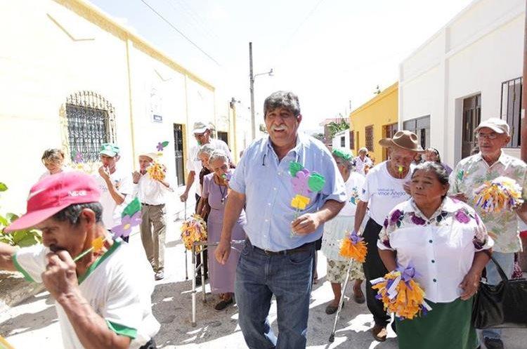 Julio Girón, alcalde de Estanzuela. (Foto Prensa Libre: Dony Stewart)