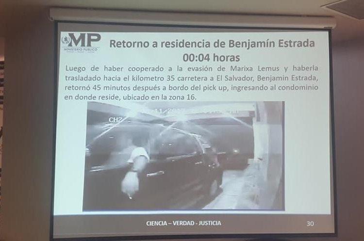 Después de dejar a La Patrona, el abogado regresó a su casa después de la medianoche. (Foto Prensa Libre: MP)