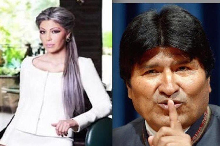 Gabriela Zapata, exnovia del presidente boliviano Evo Morales.