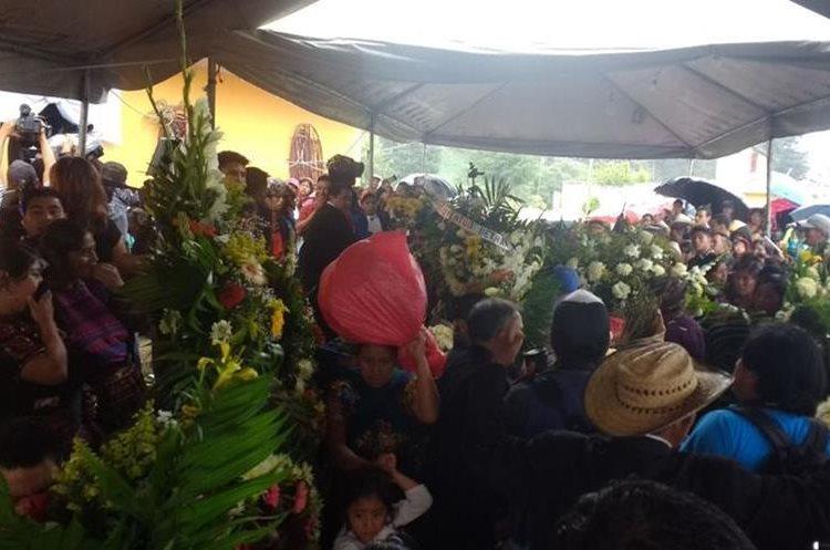El cuerpo de Claudia Gómez fue repatriado el pasado jueves al medio día.