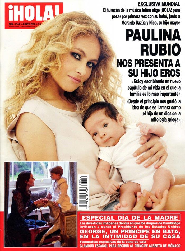 La edición especial de la publicación del Día de la madre ya esta a la venta. (Foto Prensa Libre: ¡Hola!)