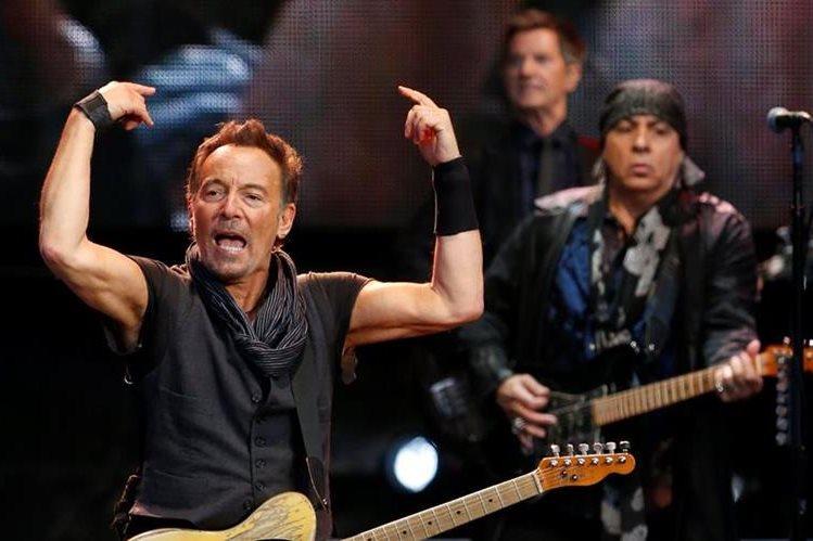 Bruce Springsteen prepara un repertorio especial para la presentación de Rock in Río Lisboa. (Foto Prensa Libre: EFE)