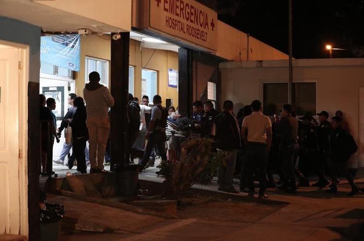 Pérez Molina fue atendido durante horas en el Hospital Roosevelt y luego al Centro Médico Militar.  (Foto Prensa Libre: Hemeroteca PL)