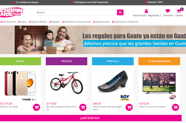 Sitio Chopinmol.com