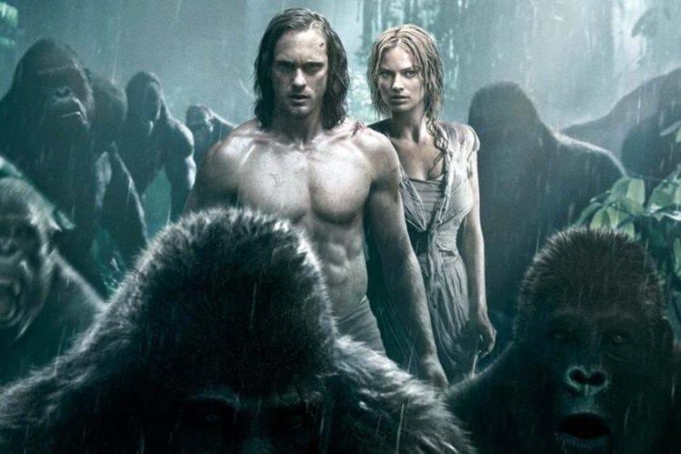 En esta nueva historia, el rey de la selva regresa al Congo, en compañía de su amada Jane. (Foto Prensa Libre: Warner Bros)