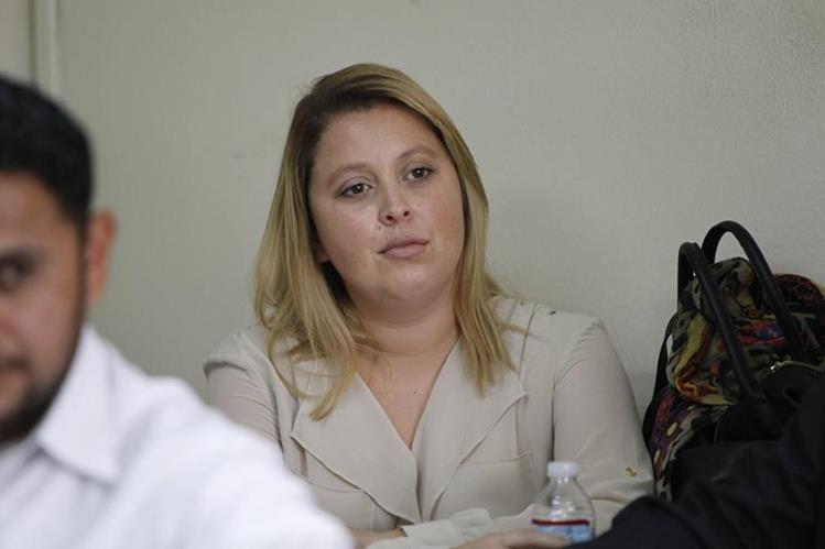 Manola Zarco, cuñada del exdiputado Edgar Cristiani, está ligada a proceso por tener una plaza fantasma. (Foto Prensa Libre: Hemeroteca PL)