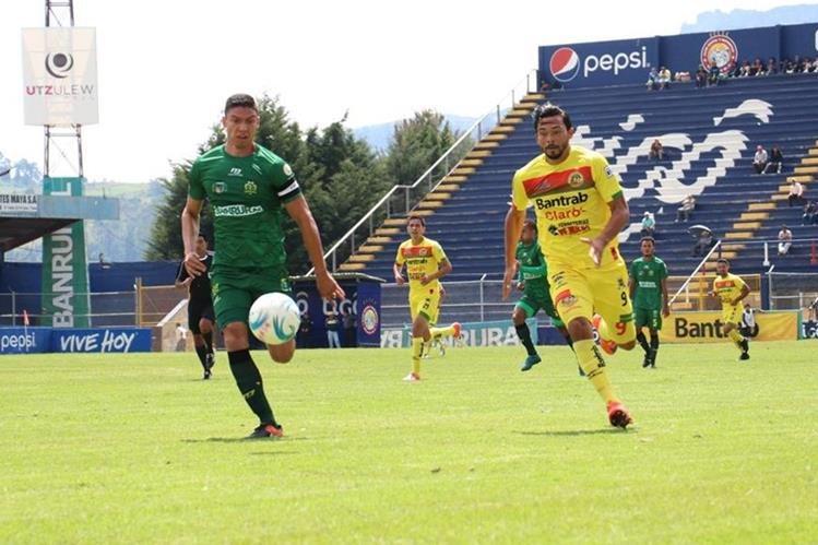 Guastatoya se coloca en el quinto lugar del Apertura 2017 (Foto Prensa Libre: Raúl Juárez)