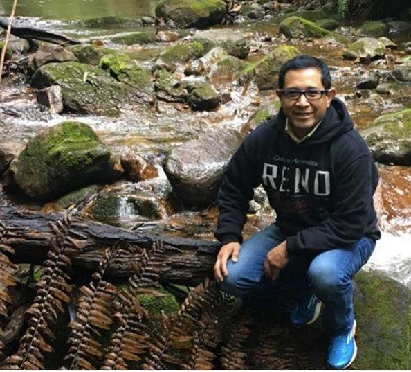 Marvin Otzoy, un líder migrante que radica en la ciudad de Reno. (Foto Prensa Libre: Facebook)