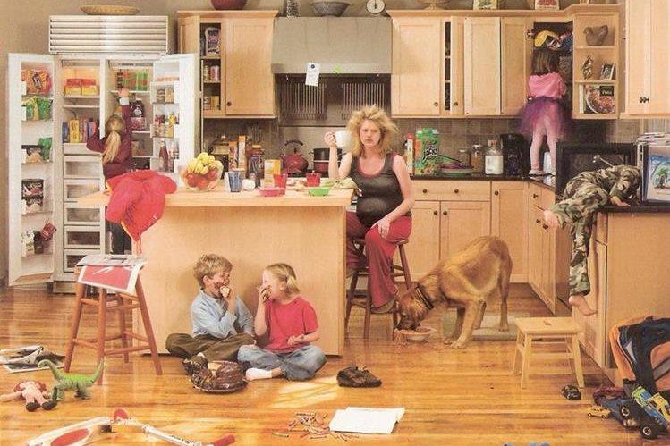 El desorden en casa está relacionado con el estado de ánimo de la familia o de la persona.