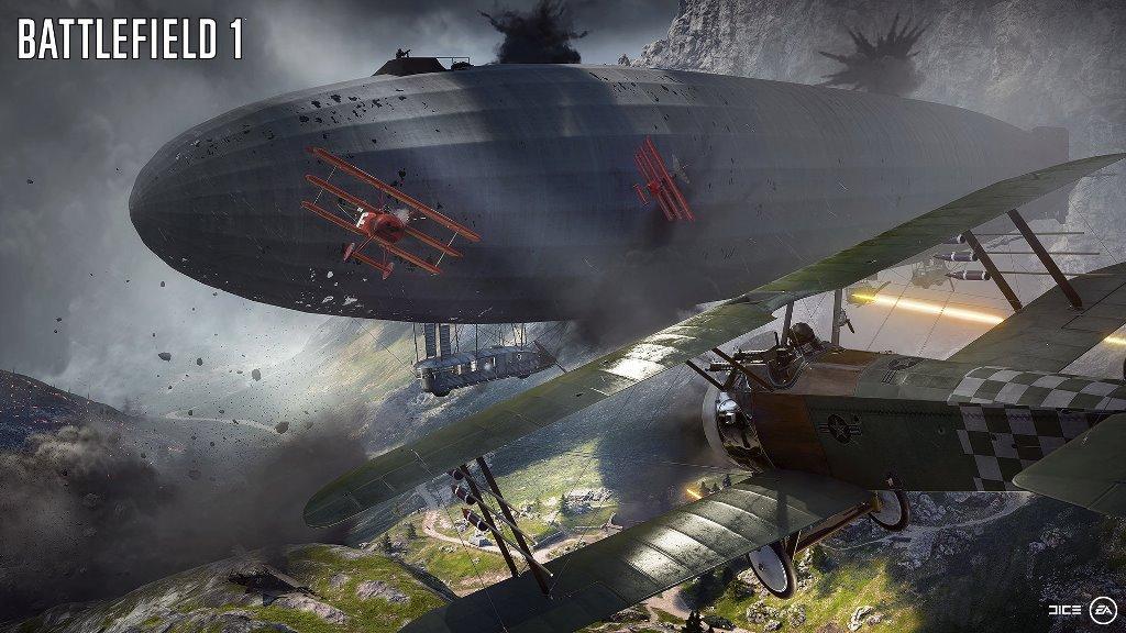 Battlefield I es también muy aclamado por los aficionados. (Foto Prensa Libre: Electronic Arts)