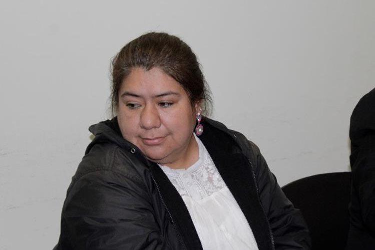 Leticia del Rosario Hasted Santizo quedó ligada a proceso en el juzgado de Xela. (Foto Prensa Libre: María José Longo)