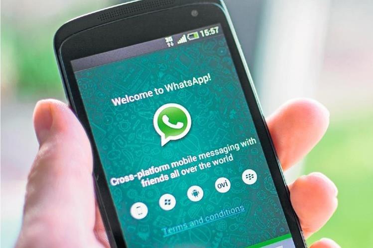 La nueva versión de Whatsapp 2.12.193 esta disponible solo para el sistema Android. (Fotos Prensa Libre Hemeroteca).