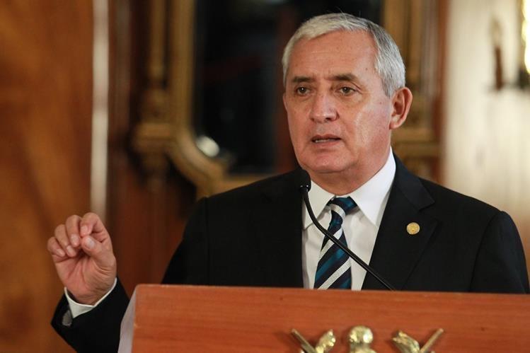 Desde el 16 abril el presidente Pérez Molina enfrenta una serie de manifestaciones que exigen su renuncia por los actos de corrupción en su gobierno. ( Foto Prensa Libre: Hemeroteca PL)