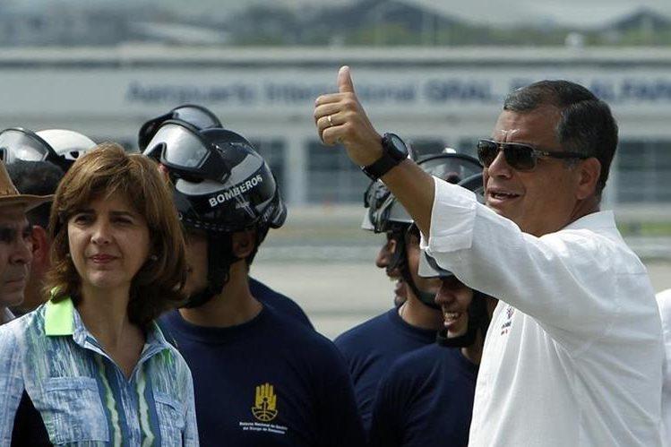 Grupo podrá continuar con trámite para reelección de Rafael Correa. (Foto Prensa Libre: EFE)