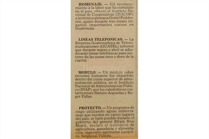 Guatel entregará líneas telefónicas. ¿Alguien recuerda lo difícil que era agenciarse de una? (Foto: Hemeroteca PL)