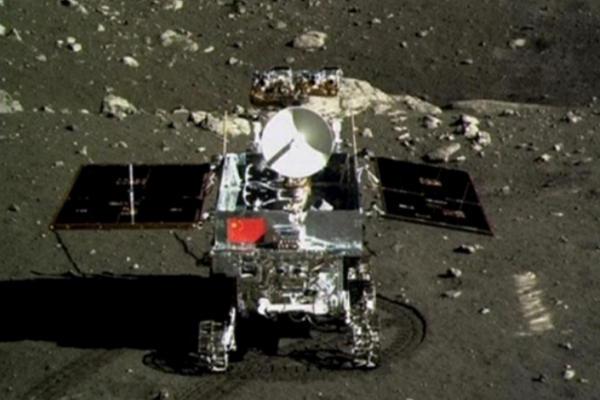 "<p>El rover chino <em>Yutu</em>, comúnmente conocido como Conejo de Jade alunizó en 2013. foto: <span class=""autor"">TIANGONG 1</span></p>"