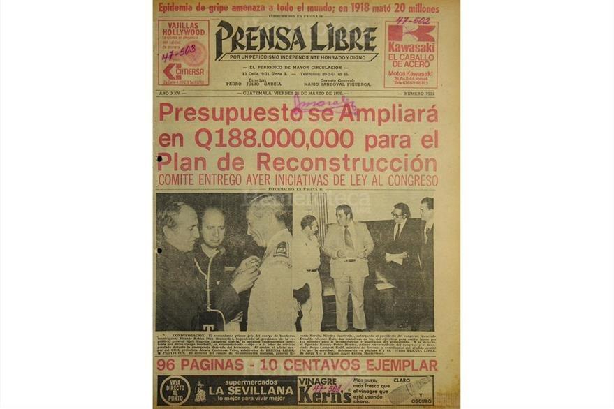 Ampliación presupuestaria en 1976. (Foto: Hemeroteca PL)