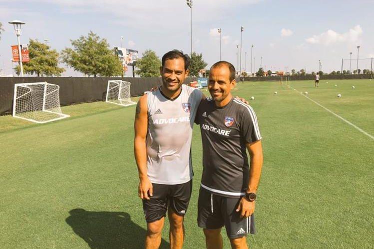 Carlos Ruiz ya se entrena con el FC Dallas