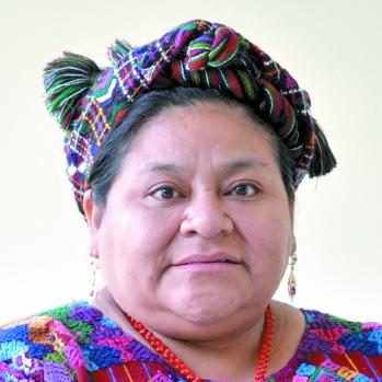 Rigoberta Menchú, Premio Nobel de la Paz. (Foto: Hemeroteca PL)