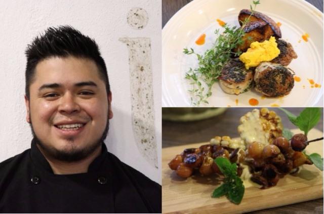 El Chef Luis Felipe Quijivix comparte dos de sus recetas favoritas (Foto Prensa Libre: María José Longo)