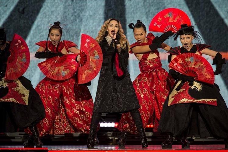 La reina del pop cautiva en México. (Foto Prensa Libre: AP)