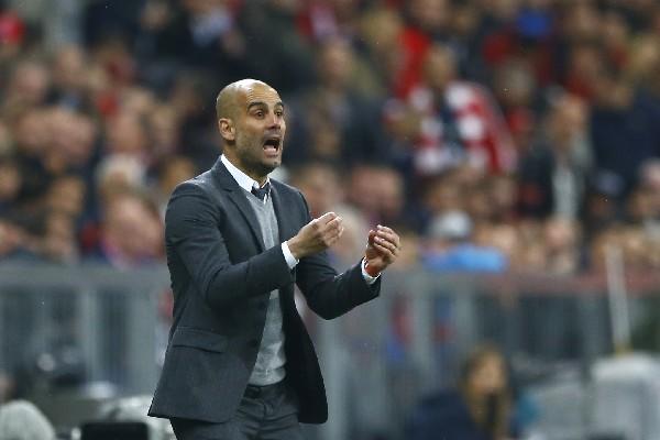 Pep Guardiola deseó lo mejor al Bayern, que en la próxima temporada tendrá a Carlo Ancelotti como técnico. (Foto Prensa Libre: AP)
