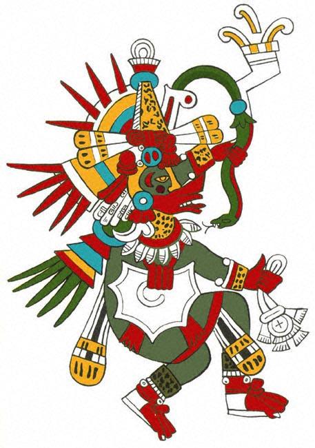 Representación de Gukumatz.