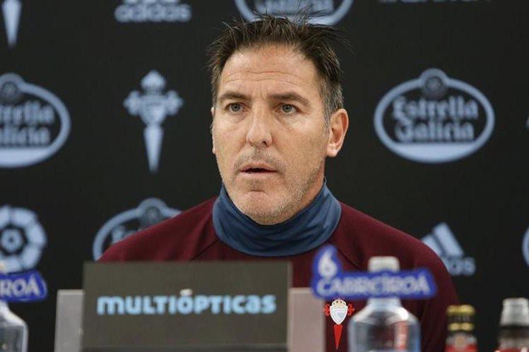 """""""El Toto"""" y el Celta cumplieron con una buena temporada. (Foto Prensa Libre: EFE)"""