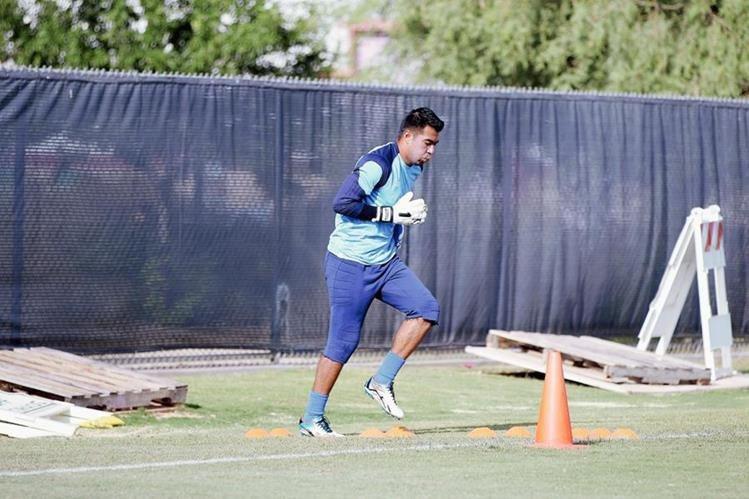 Paulo César Motta podría ver acción en Copa Oro ante los mexicanos. (Foto Prensa Libre: Cortesía Fedefutbol)