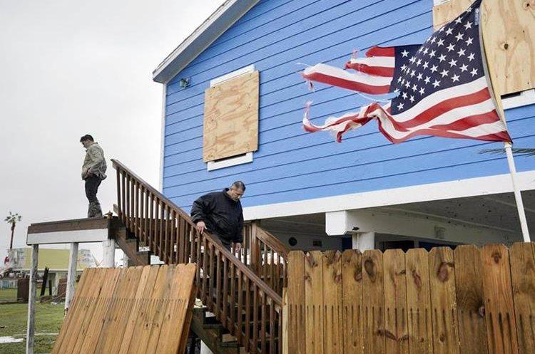 El sur de Texas ha sido el más afectado con el paso del huracán Harvey.