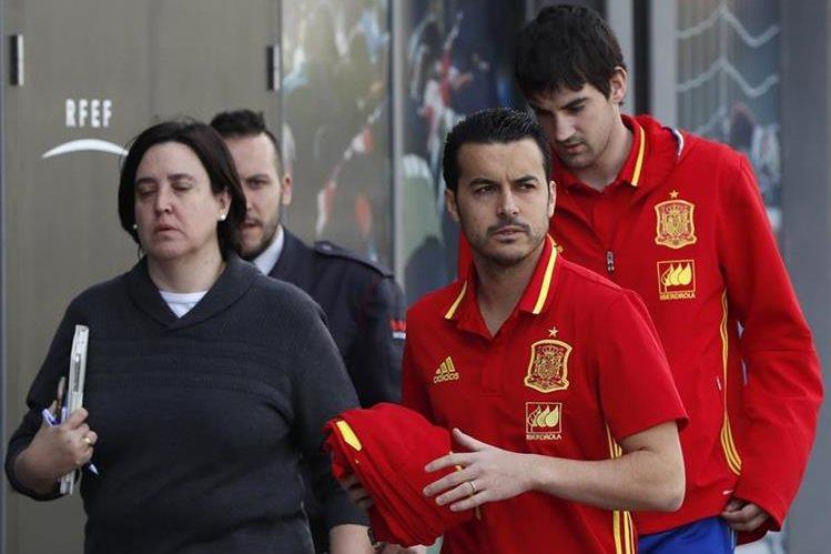 Los actuales campeones de la Eurocopa, España continúan con su preparación. (Foto Prensa Libre: EFE)