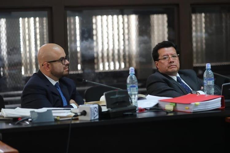 El exmagistrado de la Corte Suprema de Justicia, Douglas Charchal, deberá ser juzgado ante un tribunal de Sentencia. (Foto Prensa Libre: Érick Ávila)
