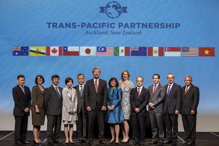 Doce países firmaron hoy el Acuerdo Transpacífico.
