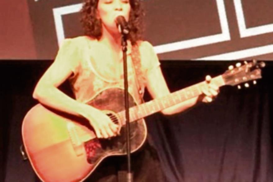 Gaby Moreno  cantó en I am latino in America. (Foto Prensa Libre: Tomada de Twitter /gaby_moreno).