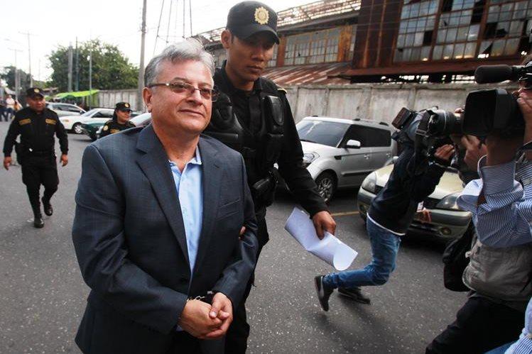 Villeda fue capturado a finales de julio, en la zona 16. (Foto Prensa Libre: Hemeroteca PL)