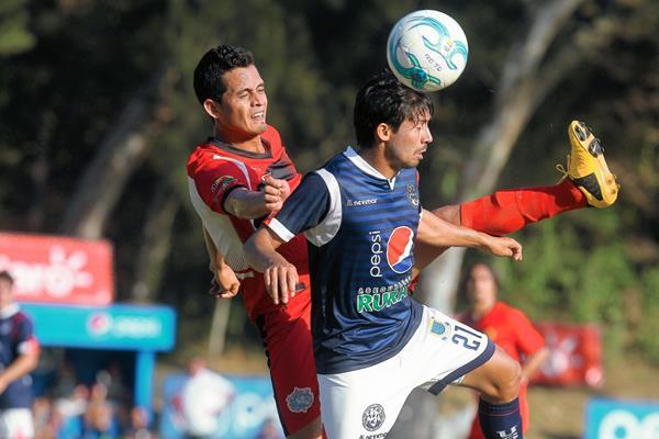 Los universitarios sorprendieron a Coatepeque en casa y se quedaron con la victoria de visita. (Foto Prensa Libre: Óscar Felipe)