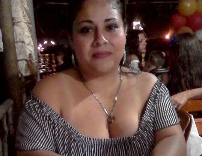 Foto en vida de Claudia Duarte quien fue localizada a orillas de la Bahia de Amatique en Puerto Barrios Izabal, amarrada, flotando y en el interior de unas bolsas de naylon. (Foto Prensa Libre: Dony Stewart)